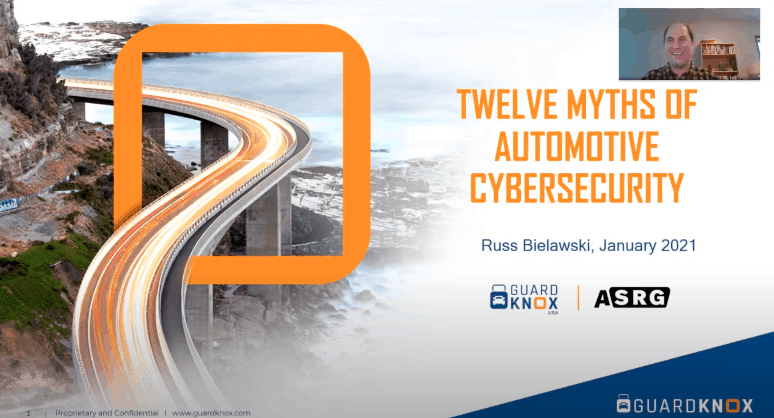 12 Myths of Automotive Cybersecurity